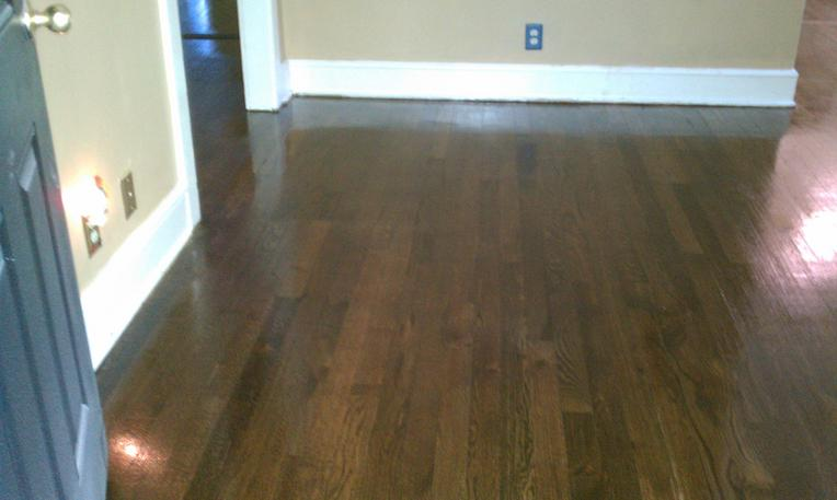 Stain Oak Darker Oak Floor Before Staining